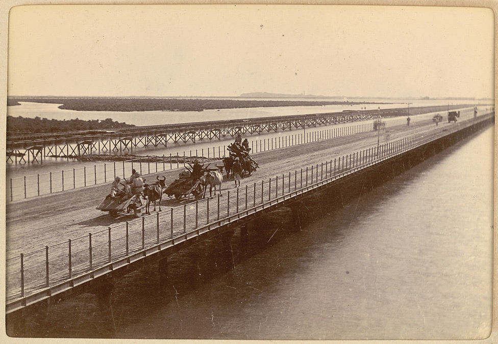 Napier Mole Bridge to Kemari