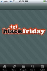 TGI Black Friday iPhone App