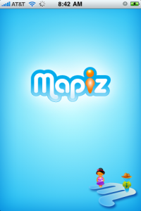 Mapiz iPhone App