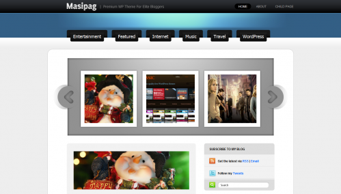 Masipag WordPress Theme