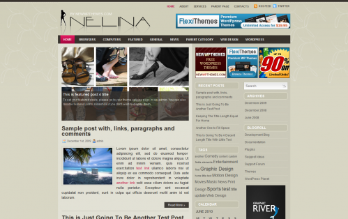 Nelina - FREE WordPress Premium Magazine Theme