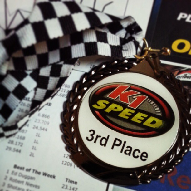 When you go race first time, even 3rd place feels good. #gokart #kpmg #event #networking #taxlife