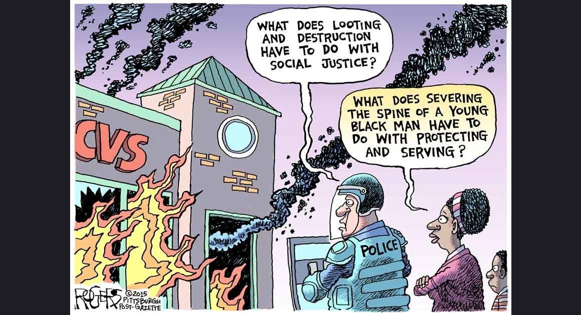 Rob Rogers - Social Justice