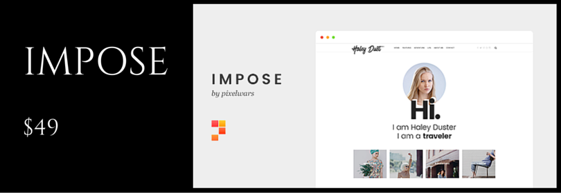 A WordPress Theme For Bloggers