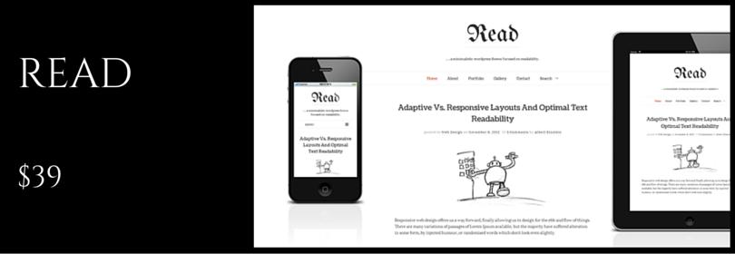 Read WP - Responsive HTML5 Minimalist Theme